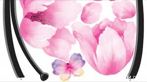 pink flower wall stickers on windows walls wallstickery com pink flower wall stickers on windows walls wallstickery com youtube