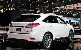 touch up paint for lexus ls430 2013 lexus rx 350 f sport 2012 new york auto show motor trend