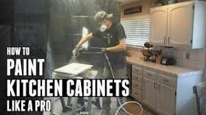 how to paint kitchen cabinets sprayer how to paint kitchen cabinets like a pro