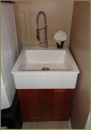 diy laundry tub cabinet home design ideas