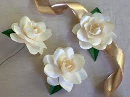 how to make paper gardenias how tos diy