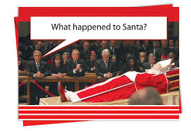 what happened to santa christmas card nobleworkscards com