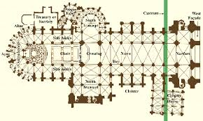gothic cathedral floor plan gothic glossary