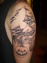 halloween tattoos and designs page 82