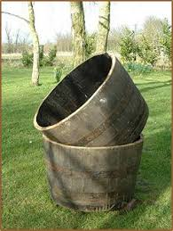 Half Barrel Planter by Buy Half Oak Barrels Tubs For The Garden Buy Whole Barrels