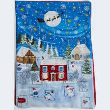 advent calendar advent calendar fabric panel