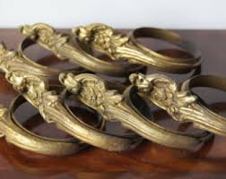 Gold Curtain Rings Ornate Curtain Rings Etsy