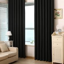 Black Linen Curtains Alluring Black Curtains For Bedroom And Stylish Interior Designs