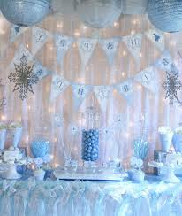 Winter Onederland Party Decorations Accessories Charming Home Accessories Decorations Of Winter