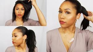 faux high ponytail for hair weave ponytail relaxed hair