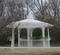 white gazebo rent a white wicker gazebo for your wedding at all seasons rent all