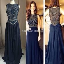 prom dresses dark blue long plus size prom dresses