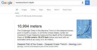 40 meters to feet how does the mariana trench relate to the earth s diameter quora