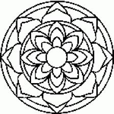 free printable mandala coloring pages pertaining