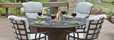 atlas chairs and tables woodard atlas outdoor furniture collection with wrought iron frame