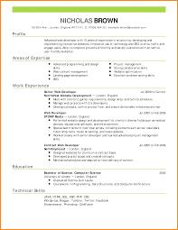 Oilfield Resume Samples by 9 Formal Resume Samples Addressing Letter