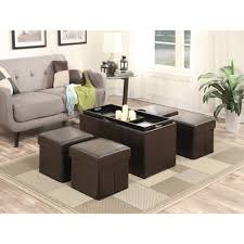Leather Coffee Table Storage Living Room Living Room Coffee Tables Fresh Ottomans Ottoman