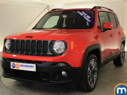 new jeep renegade used or nearly new jeep renegade 1 4 multiair night eagle ii 5dr