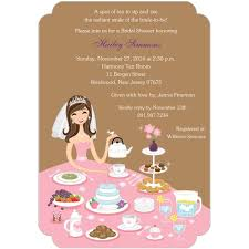 tea party bridal shower invitations tea party bridal shower invitations templates