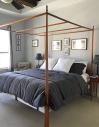 beautiful beds for summer rough linen