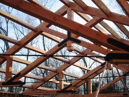 architecture exciting scissor truss for decorative ceiling beams