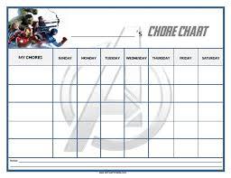 Chore Sheet Template Chore Chart Monthly Family Chore Chart Template Family Chore