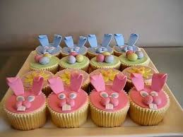 Easter Bonnet Cake Decorating by Fondant Easter Cupcakes Bunnies Easter Eggs U0026 Sunflowers How To