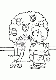 easter egg colouring pages part 6