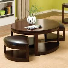 coffee table round coffee table with seats underneath roy home