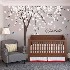 personalised tree with names and butterflies by wall art personalised tree with names and butterflies