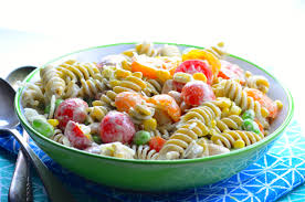 summery pasta salad may i have that recipe
