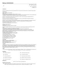 training coordinator resume resume for study