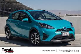 toyota prius c tire pressure 2018 toyota prius c three 5d hatchback in cathedral city