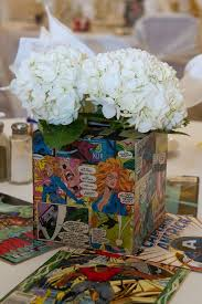 superhero wedding table decorations a classic comic book wedding at landoll s mohican castle comic