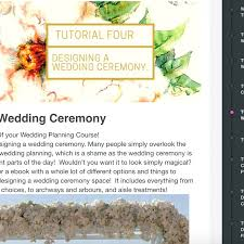Planning A Wedding Ceremony Certificate In Professional Wedding Planning The Wedding Planner