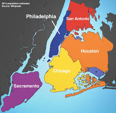 Map To Chicago by These Maps Show Just How Big Nyc Is Compared To Other Cities