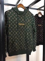 supreme lv box logo monogram hoodie u2013 h for hype