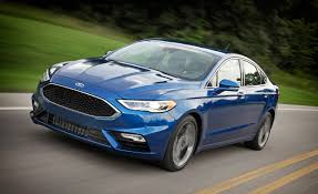 ford fusion 2017 ford fusion sport drive review car and driver