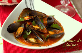cuisiner moule moules à la provençale sauce tomate amour de cuisine