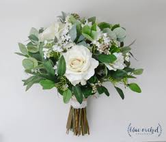 bridal bouquets wedding flowers wedding bouquet eucalyptus bouquet silk