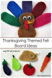 thanksgiving felt board play ideas where imagination grows