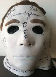 michael myers mask charitybuzz incredibly michael myers mask from
