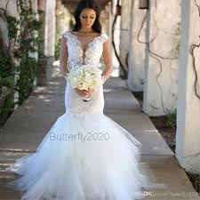 plus size country wedding dresses lace mermaid wedding dresses sleeves appliques tulle