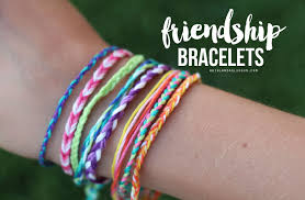 craft bracelet images Friendship bracelets kid craft monday a girl and a glue gun jpg
