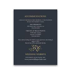 Wedding Invitation Insert Cards Guest Information Cards For Weddings As Insert Cards