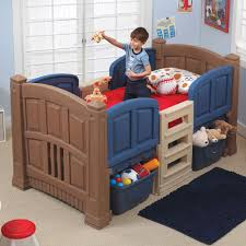 Small Bedroom For Two Toddlers Boy U0027s Loft U0026 Storage Twin Bed Kids Beds With Storage Step2