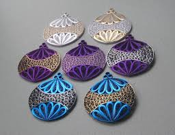 quilling ornament choice of color by barbarasbeautys