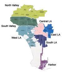 los angeles suburbs map los angeles neighborhood councils get involved la community