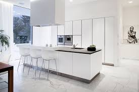 Kitchen Floor Covering Ideas Alluring Sleek White Ceramic Floor Tile For Contemporary Kitchen