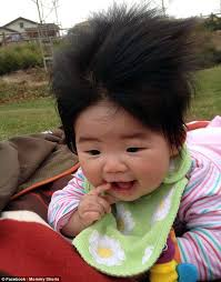 hair for babies mini mohawks and static frizz babies battle it out in contest for